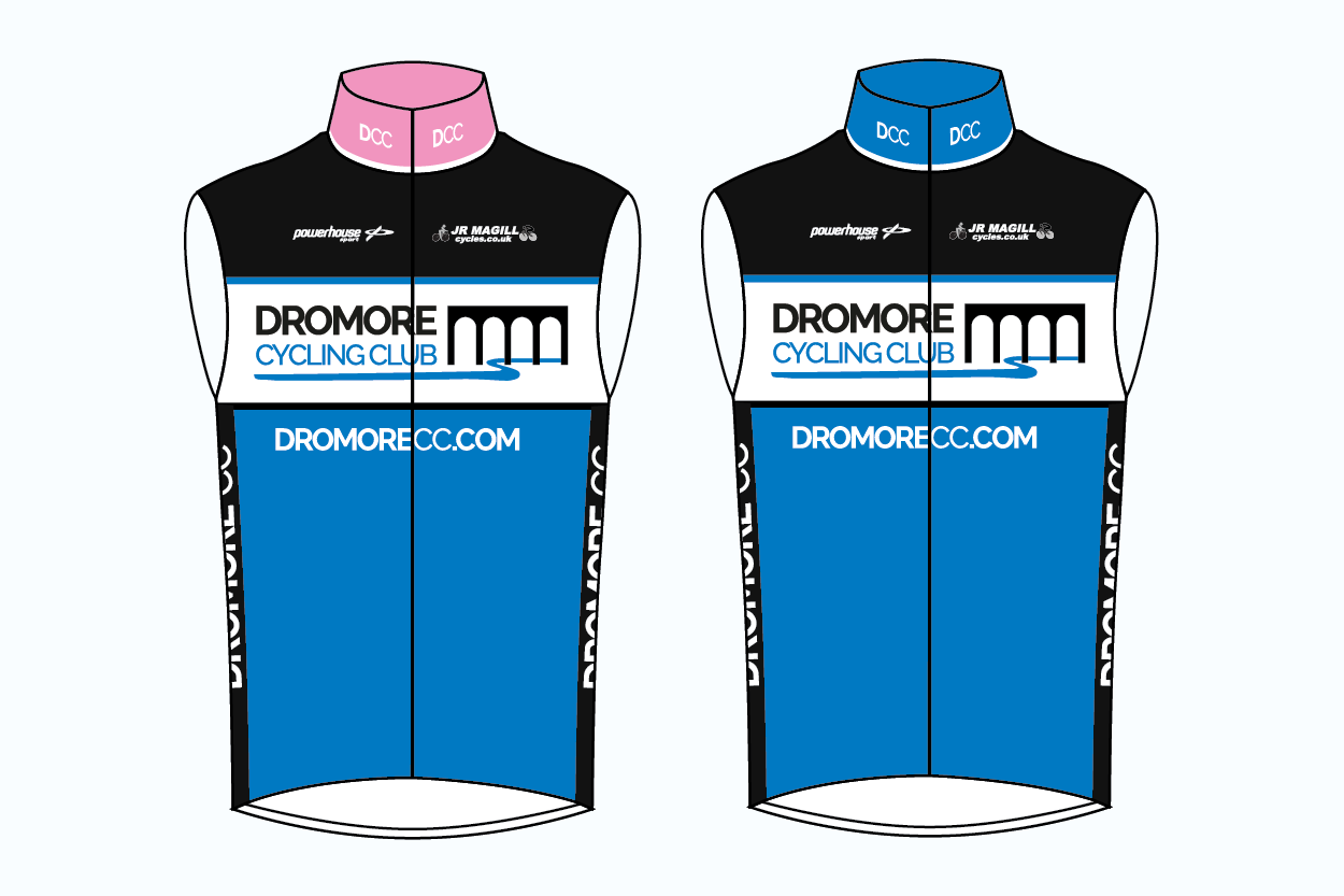 Dromore CC Elite Fit Gilet - Powerhouse Sport