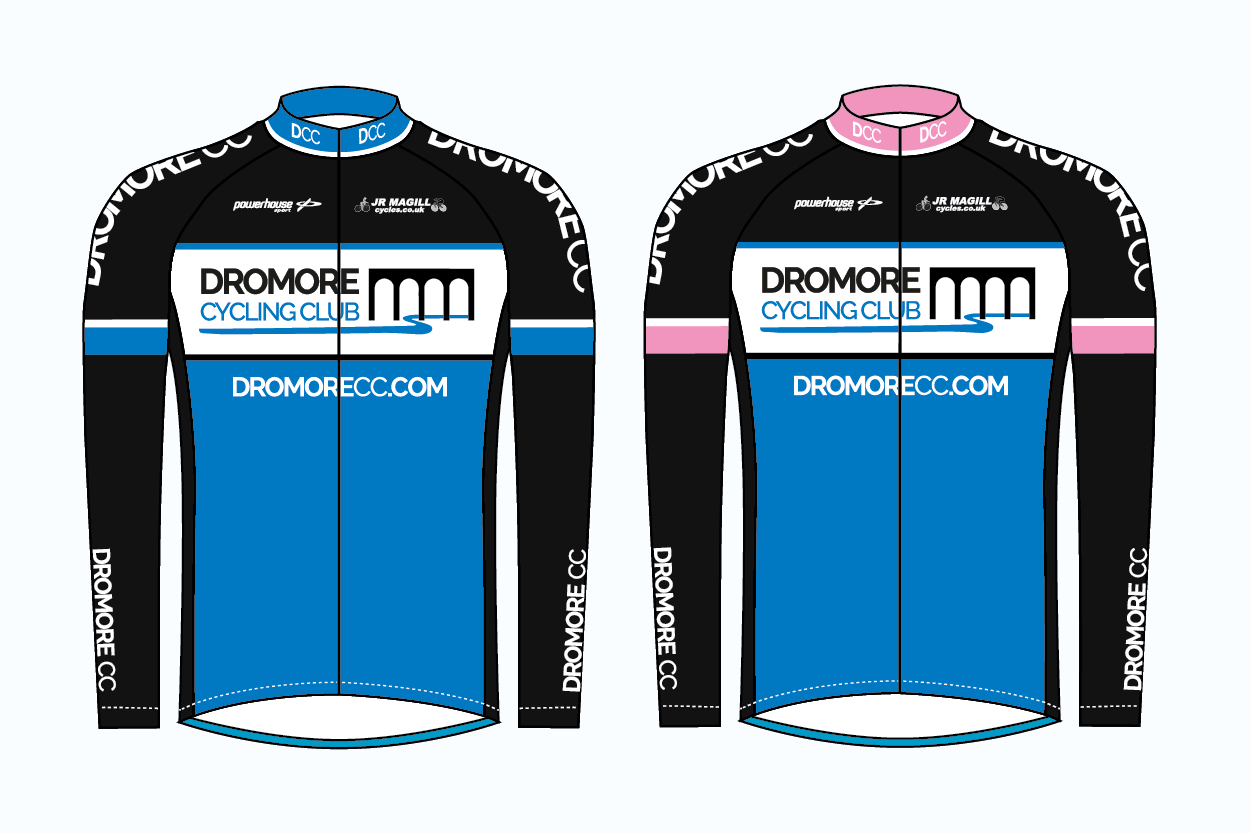 Dromore CC Thermal Jersey LS - Powerhouse Sport