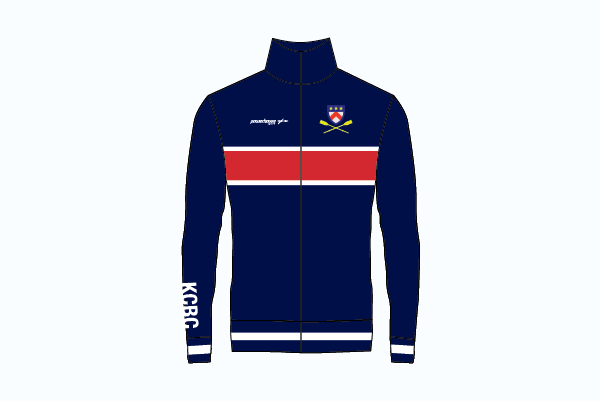 Keble College Retro Track Top - Powerhouse Sport
