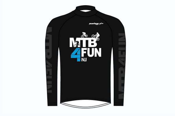 MTB 4 FUN Jersey Black - Youth