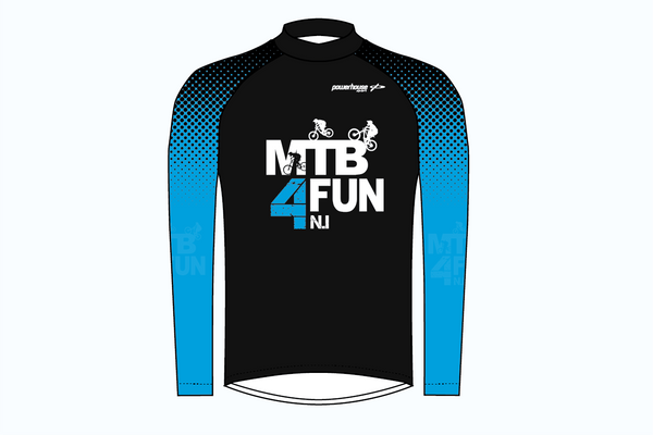 MTB 4 FUN Jersey Black/Blue