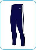 Leggings | Navy (M) - Powerhouse Sport
