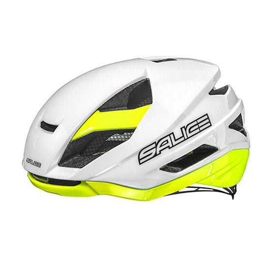 Salice Levante Helmet - White / Yellow - Powerhouse Sport