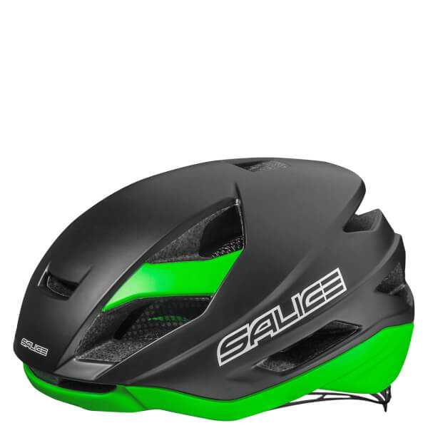 Salice Levante Helmet - Black Green - Powerhouse Sport