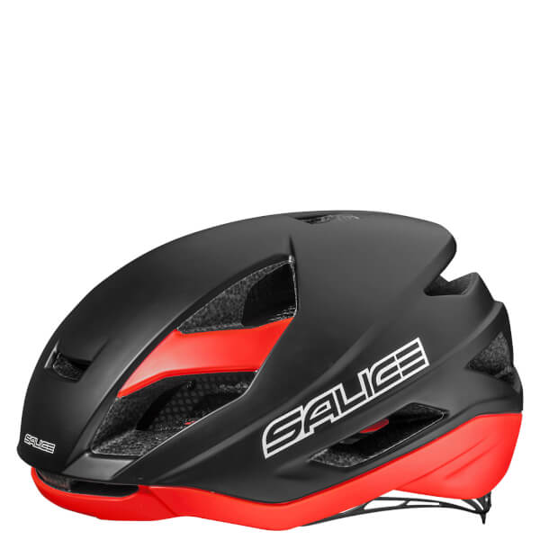 Salice Levante Helmet - Black/Red - Powerhouse Sport