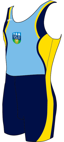 UCDBC Onepiece rowing suit - Womens