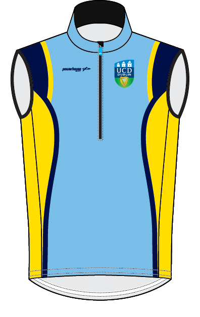 UCDBC Rowing Gilet - Womens