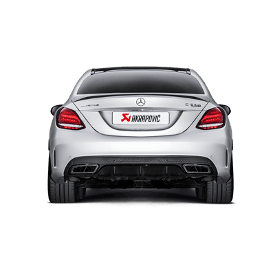 Akrapovič Evolution Line (Titanium) + Evolution Link Pipe Set - Mercedes AMG C63 Saloon (W205) 2015+