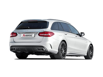Akrapovič Evolution Line (Titanium) + Evolution Link Pipe Set - Mercedes AMG C63 Estate (S205) 2015+