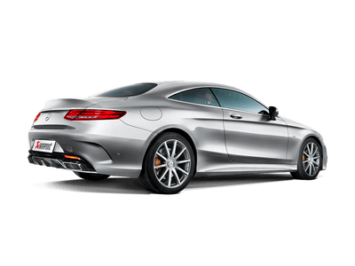 Akrapovič Evolution Line (Titanium) + Evolution Link Pipe Set - Mercedes AMG S63 Coupé (C217) 2015-2018