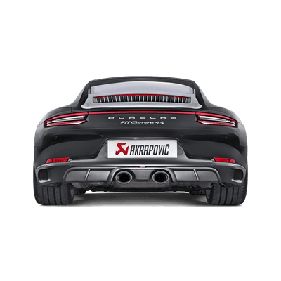 Akrapovič Slip-On Line (Titanium) For OE sports exhaust - Porsche 911 Carrera S/4/4S/GTS (991.2) 2016+
