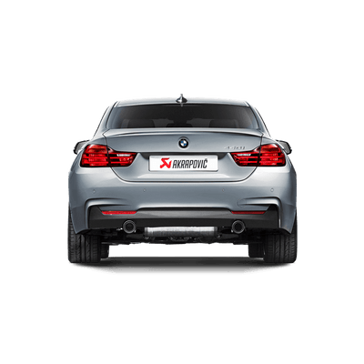 Akrapovič Evolution Line (SS) + Evolution Link Pipe Set (SS) - BMW 440i (F32, F33) 2016+