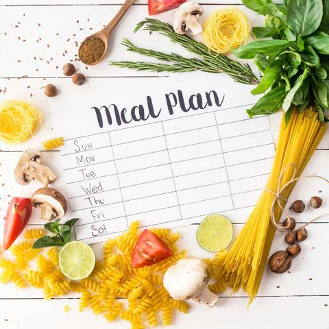 Dragons & Daisies Meal Planner + Meal Ideas