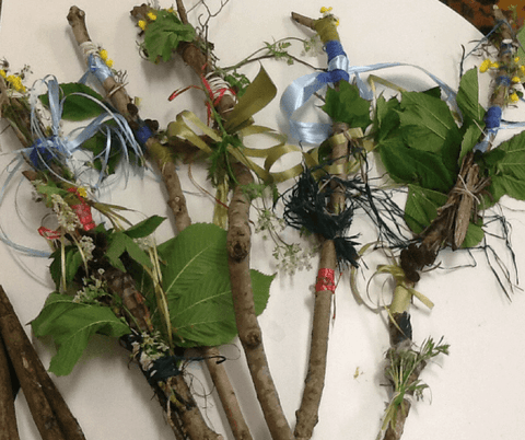 Dragons & Daisies Half-Term Activity Blog - Fun things for kids to do Journey Sticks