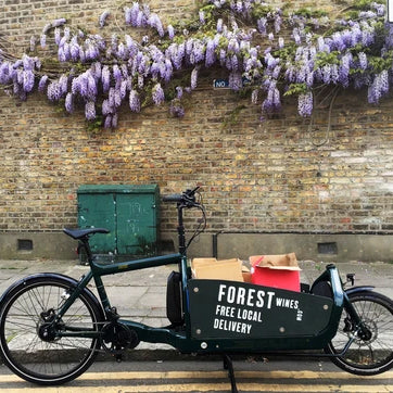Forest Wines free delivery extended to London E10 postcodes
