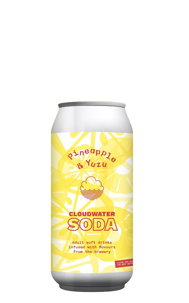 Pineapple & Yuzu Cloudwater Soda