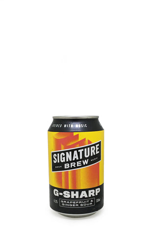 G-Sharp, Signature Brew