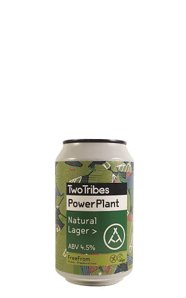 Two Tribes Power Plant Gluten-free lager