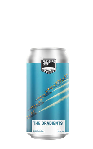 The Gradients DDH Pale, Pressure Drop Brewing