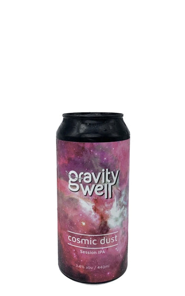Cosmic Dust Gravity Well Brewing