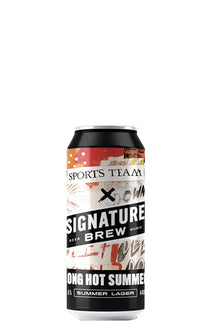 Long Hot Summer, Signature Brew x Sports Team