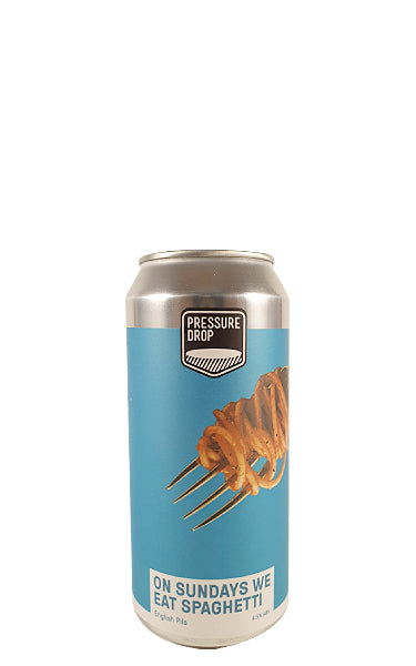 On Sundays We Eat Spaghetti, Pressure Drop Brewing