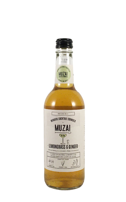 Muzai Lemongrass & Ginger craft cocktail mixer