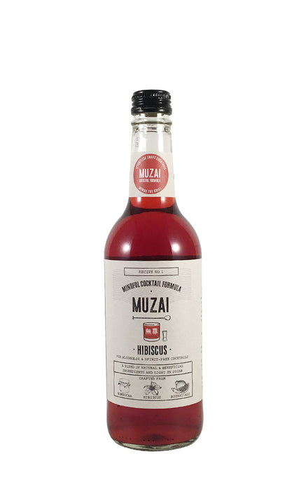 Muzai Hibiscus craft cocktail mixer