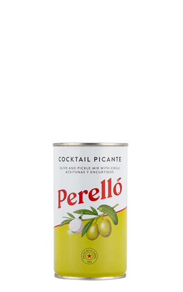 Perello Cocktail Mix with Manzanilla Olives