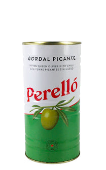 Perello Gordal pitted olives 600g