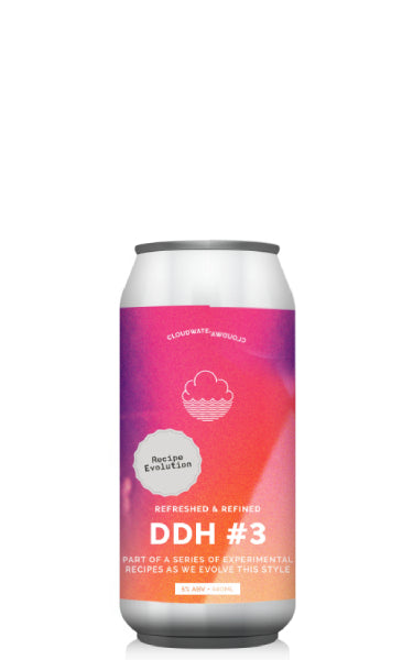 Cloudwater DDH Pale Recipe Evolution #3