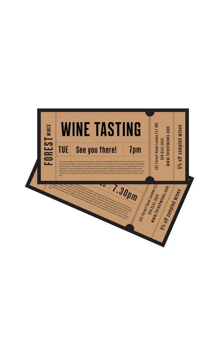 Virtual Wine tasting ticket Saturday 3rd April