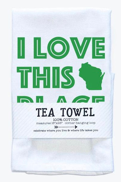 Tea Towel - I Love This Place