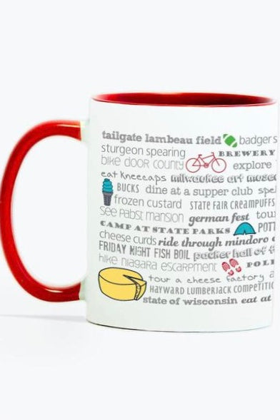 Wisco Bucket List - Mug