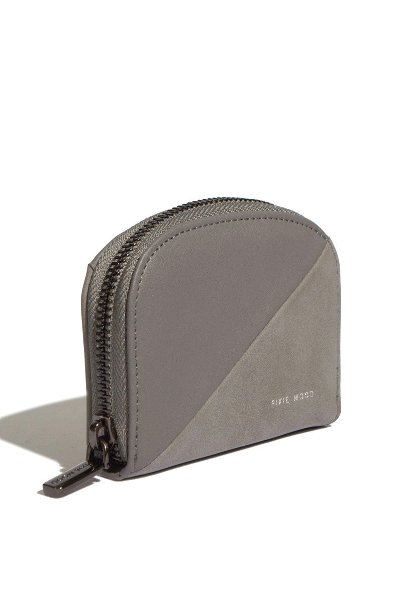 Ida Card Case - Grey/Nubuck