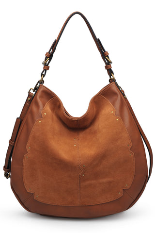 Carrie Crossbody - Cognac