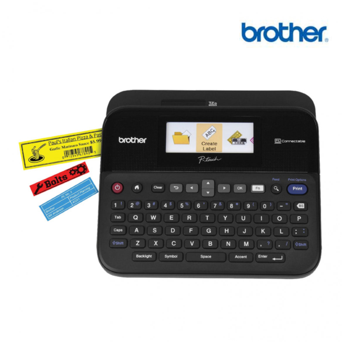 Brother P Touch D600 Label Maker