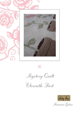 Art.810 Shabby Home - Mystery Quilt – Block 11, Tutorial free