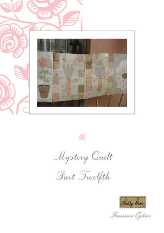 Art.811 Shabby Home - Mystery Quilt –  Block 12, Tutorial free