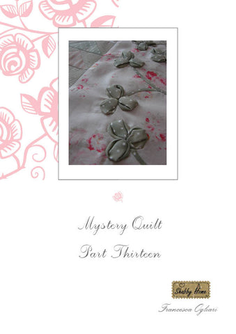 Art.812 Shabby Home - Mystery Quilt –  Block 13, Tutorial free