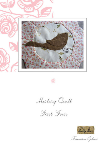 Art.805 Shabby Home - Mystery Quilt – Block 4, Tutorial free