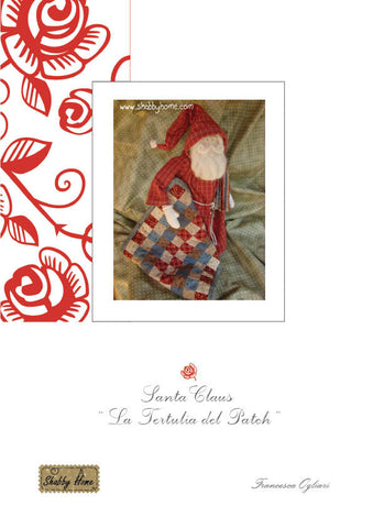 Art.601 Shabby Home -  Santa Claus La Tertulia del Patch, tutorial and patterns