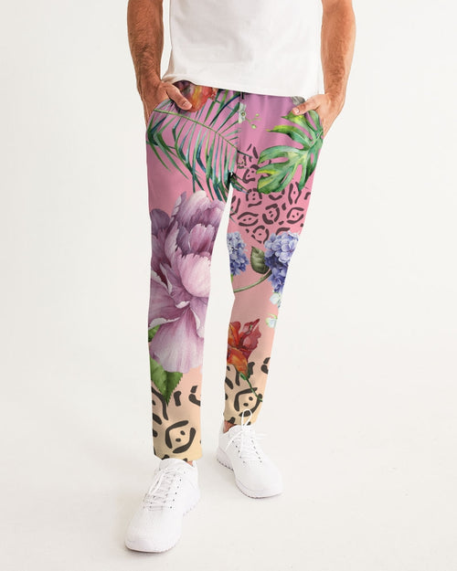 Ombre Floral Joggers