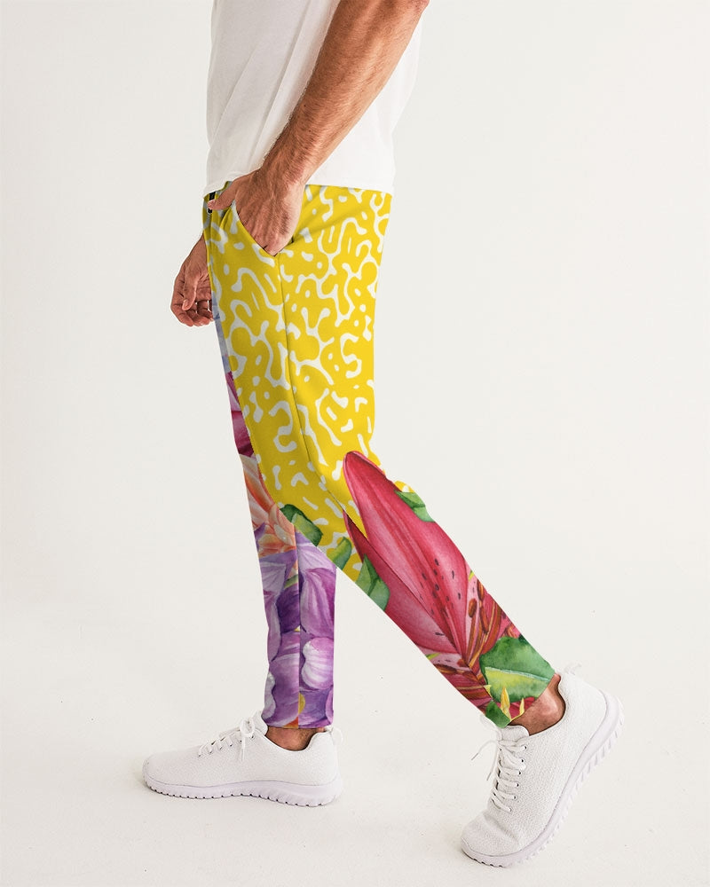 Sunshine Floral Men's Joggers