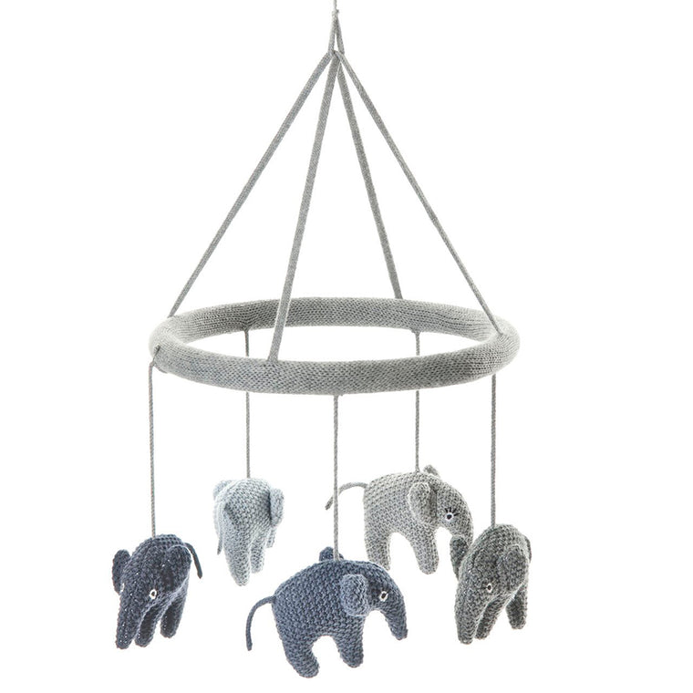 HEKLET URO - SMALLSTUFF ELEFANT (BLUE/GREY)