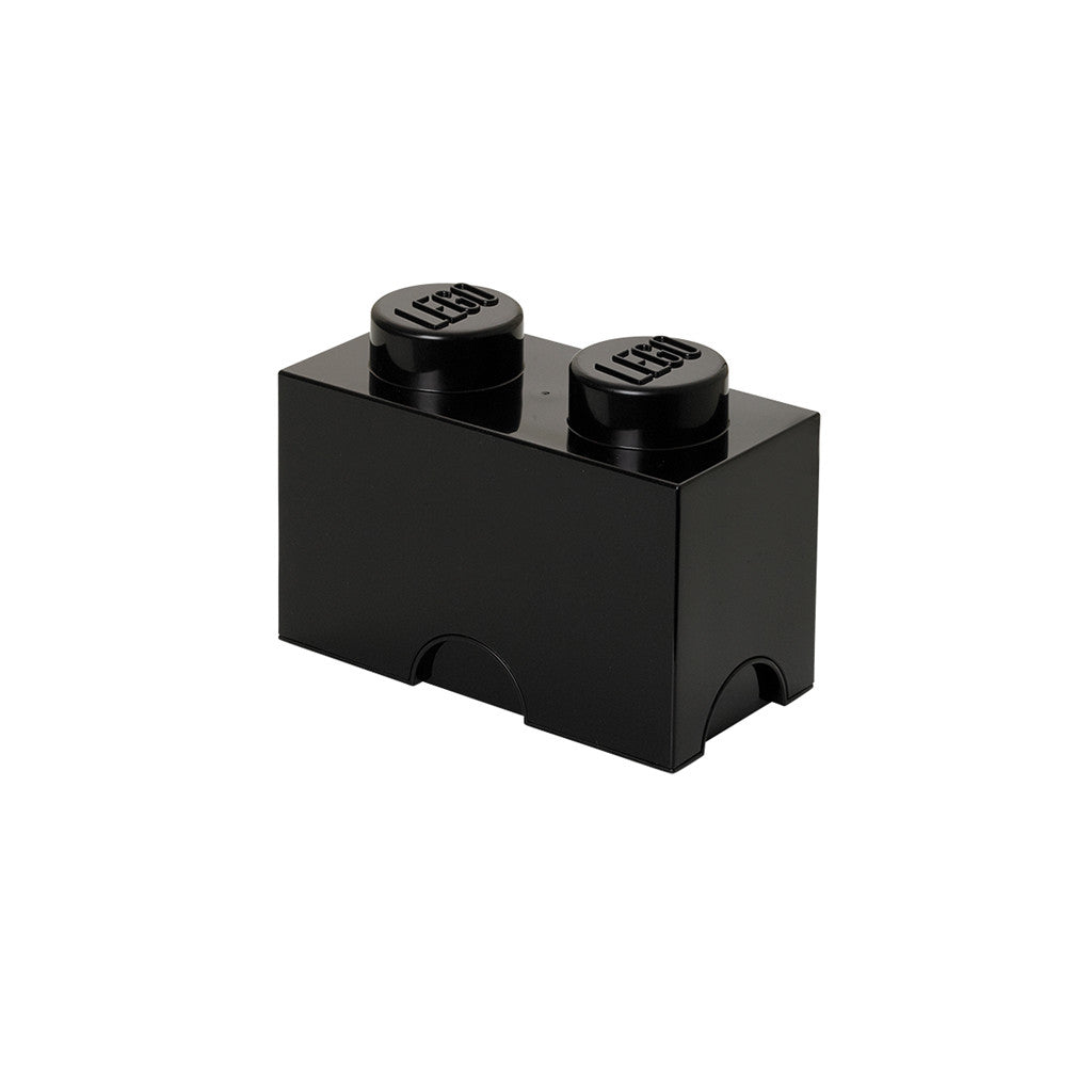 LEGO - STORAGE BRICK 2 (BLACK)