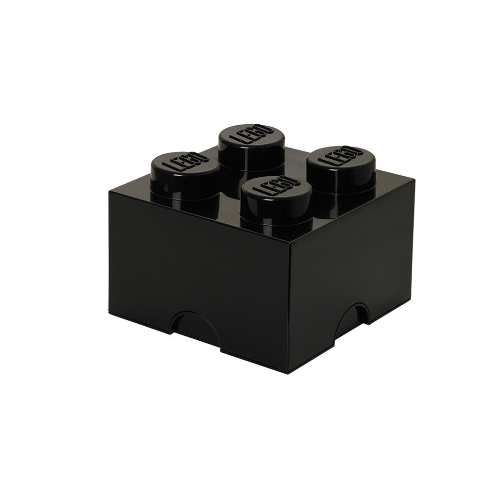 LEGO - STORAGE BRICK 4 (BLACK)