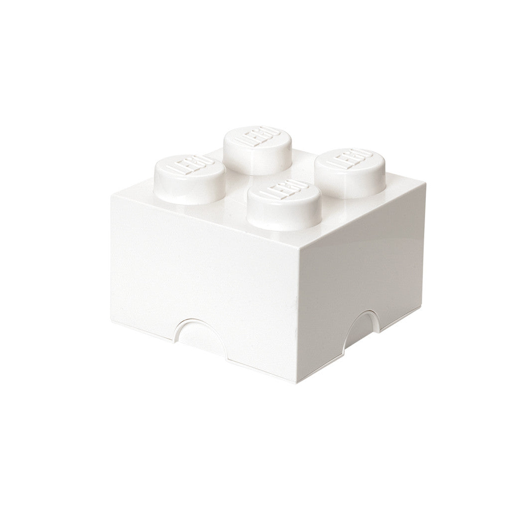 LEGO - STORAGE BRICK 4 (WHITE)