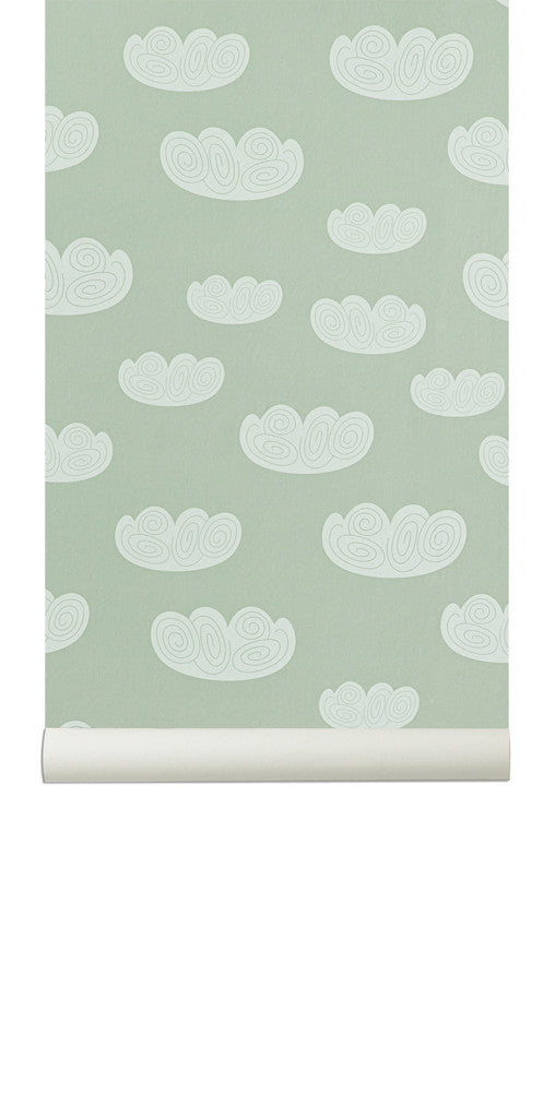 TAPET - FERM LIVING CLOUD (MINT)