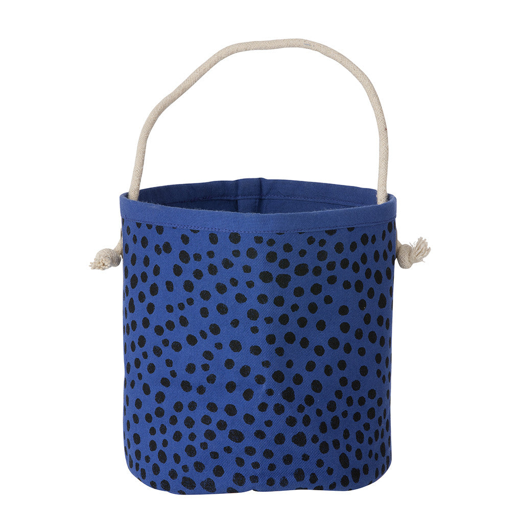 OPPBEVARINGSKURV - FERM LIVING BLUE BILLY (MINI)